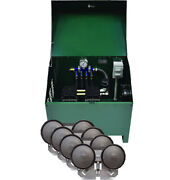 3/4 Hp Pond Aeration System Rocking Piston Pa86ad Includes Cabinet And Diffusers