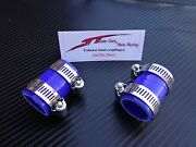 Blue Yamaha Banshee Quad Exhaust Pipe Clamps All Years Fmfdg Factory Atv