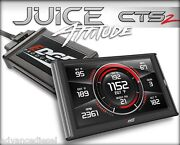 07-10 Chevy Duramax 6.6l Lmm Edge Products Juice W/ Attitude Cts2 Part 21503