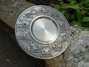 German Pewter Plate Cars 1886-1975 Showing Mercedes Bmw Ford T Vw Bug Daimler