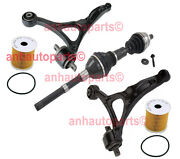 New Right Front Cv Axle And 2 Front Control Arms Volvo Xc90 6-cylinder