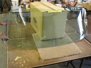 Oem 1951 1952 1953 Kaiser Back Glass Rear Window Club Coupe Virginian Ht Special