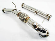 Obx Downpipe Exhaust For 2004-2012 Volvo S40n V50 Turbo T5 2wd Fwd