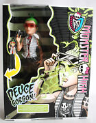 Rare 2013 Monster High Ghouls Alive Deuce Gorgon Light And Sound European New Mib