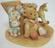 Cherished Teddies Christopher 950483 Old Friends Are Best Mint