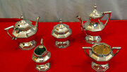 Sterling Silver 5 Pc Tea And Coffee Set By Mauser -55.7 Troy Ounces Initial S