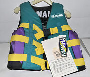 Yamaha Life Vest Preserver Size Adult Small 32-26 In. Chest