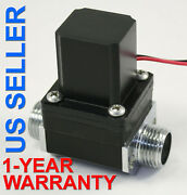 1/2 Inch Latching Pulse Solenoid Valve Npsm Gas Water 6 Vdc Low Power Long Life