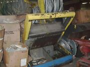 Paxson Peeler Table 50 Wide Dual Hyd Cylinders 3/8 Capacity 3500