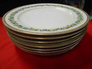 Beautiful Collectible Fuji China Occupied Japan Orchard- 8 Dinner Plates