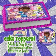 Doc Mcstuffins Edible Cake Toppers Picture Sugar Tops Party Decorations Ideas