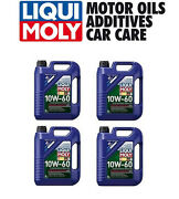 20-liters Lubro Moly 2024  10w-60 Fully Synthetic Race Tech Engine Oil