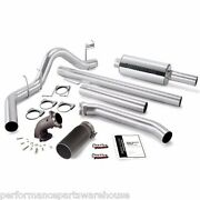 Banks Monster Exhaust W/ Power Elbow 98-02 Dodge Extended Cab - Black Tip