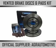 Oem Spec Front Discs And Pads 300mm For Seat 1.9 Td 2001-10