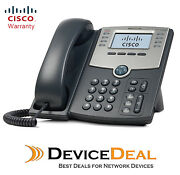 Cisco Spa508g 8-line Ip Phone 2-port Switch, Poe And Lcd Display