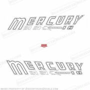 Mercury 1957 10hp Mark 10 Outboard Decal Kit - Reproduction Decals In Stock