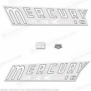 Mercury 1959 Kiekhaefer Mark 10a Outboard Decal Kit - Reproduction Decals