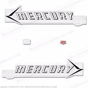 Mercury 1959 Mark 15a Mk6a White Outboard Decal Kit - Reproduction Decals