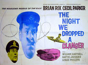 Night We Dropped A Clanger 1959 Brian Rix, Cecil Parker William Hartnell Uk Quad