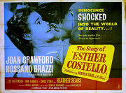 Story Of Esther Costello 1957 Joan Crawford Rossano Brazzi Heather Sears Quad