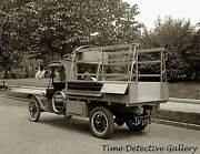 Antique Truck With Tool Cabinets - Ca. 1920 - Historic Photo Print