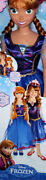 Disney Frozen Anna My Size Doll 38in. Le Edition 2014 Light Up Hair Clip Rare