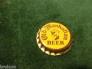 Unused New Old Stock Old Manhattan Beer Chicago Il Cork Lined Beer Cap Aisle B