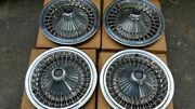 Nos Dodge Plymouth 15 Wire Hubcaps Charger Road Runner Super Bee