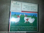 20 Hallmark Christmas Cards And Envelopes Geese In The Snow Boxed Set Vintage New