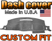Fits 1997-2005 Chevrolet Venture Dash Cover Mat Dashboard Pad / Charcoal Grey