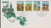 Jp-192 1971 Png Fdc 4stamps Development 192gk
