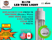 R17d 8ft 48w Clear Lens Led Fluorescent Replacement Tube Light For F96t12 T8
