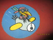 Wwii Usaaf Disney Crow Air Training Corp Of America Nyc  Flight Jacket Patch