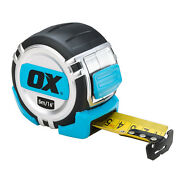 Ox Tools Pro 5m/16 Metric/imperial Tape Or 5m Metric Only Tape Measure - Choose