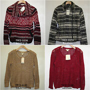 Lucky Brand,womens Paisley Sweaters,many Style And Size
