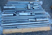 303/304 Stainless Steel Round Rod Bar Bars Various Lengths / Sizes 1400 Lbs.