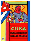 708.cuba First Free Terrotory Of America.wall Decor Poster.political Graphics.