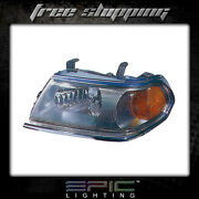Fits 2000-04 Montero Sport W/chrome Headlights Headlamps Left Driver Only