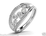 Brand New 0.65ct Round Brilliant Cut Diamonds Engagement Ring In Gold And Platinum