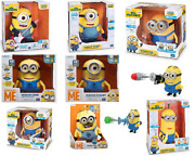 Despicable Me Minions Talking/singing/dancing Minion Action Figures- Newandsealed