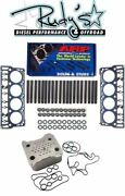Arp Head Stud Kit Head Gaskets And Oil Cooler For 2008-2010 Ford 6.4l Powerstroke