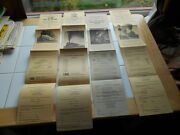 Lot 4 Vintage 1969 70 1971 High Iron Railroad No 759 Broadsides Posters Steam
