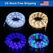 Outdoor/indoor Led Rope Light 4-lighting Mode Home Decor 20-50and039 With Remote