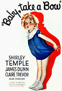 2260.baby Take A Boo Shirley Temple Art Decoration Poster.home Graphic Design.