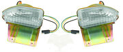 New 1970 Ford Mustang Parking Lamps - Lights Pair - Both Left And Right Side