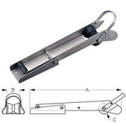 21 Inch Medium Stainless Steel Pivoting Anchor Roller For Boats