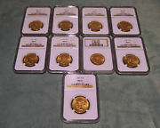 10 Indian Gold Coin Ms62 -circa 1911 And 1926 Prices Are For 1 Only 2 Availabe