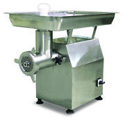 Omcan Mg-cn-0032-h 32 Head 2.7 Hp Stainless Heavy-duty Electric Meat Grinder