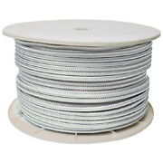 1/2 Inch X 600 Ft White Double Braid Nylon Rope Spool For Boats