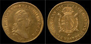 Italy Milan Guiseppe Ii 1 Gold Sovrano 1790